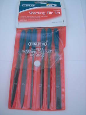 Draper 14185 6 Piece 100Mm Warding  Metal File Set