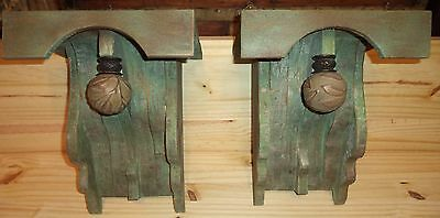 """Large Decorative 1880's  Victorian Style  Corbels   """" Summer Porch """""""