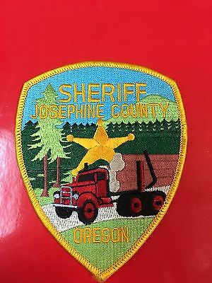 Josephine County Oregon  Sheriff  Shoulder Patch
