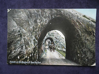 Antique Irish Postcard Tunnels On The Glengarriff Road Co. Cork Lawrence, Dublin