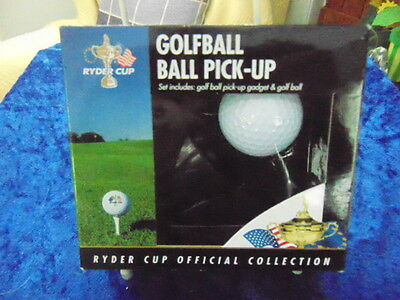 Golf Ball Pick-Up Set Boxed Ryder Cup Official Collection Nice Xmas Present