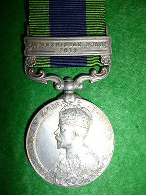 India General Service Medal, Afghanistan, North West Frontier, Kurram Militia