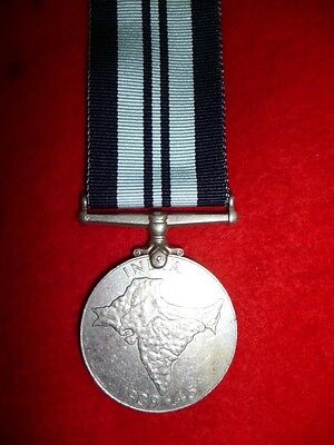 The India War Service Medal WW2 - Genuine