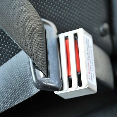 Seat Belt Buckle Guard Prevents children from unbuckling seat Works on most cars