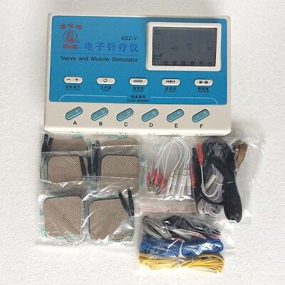 New 6 Channels SDZ-V Pulse Electronic Electrical Stimulator Body Relax Massager