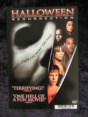 Halloween Resurrection backer card - Jamie Lee Curtis (this is not a movie )