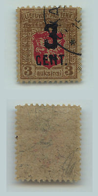 Lithuania, 1922, SC 121, used. d4998a