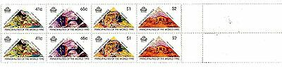 A Part Sheet Of Stamps From Australia Hutt River Province Principality 1990.