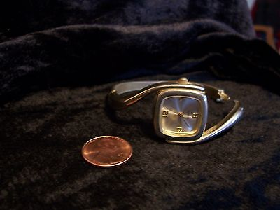 Vintage Clamp Band Wrist Watch