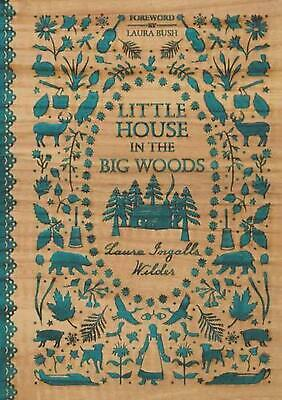 Little House in the Big Woods by Laura Ingalls Wilder (English) Hardcover Book F