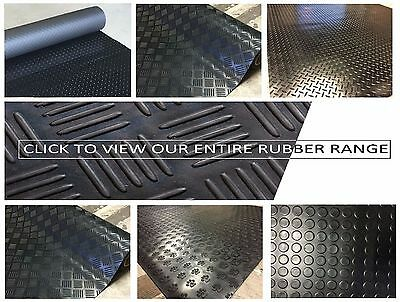 Choose from 9 Styles & Various Thickness & Size Rubber Floor Matting