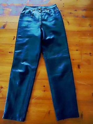 Cache D'or Mansfield Original  Vintage  Butter Soft Leather Trousers  8