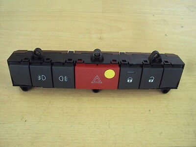 NEW Genuine Citroen Peugeot switches & warning button block 6554.TJ