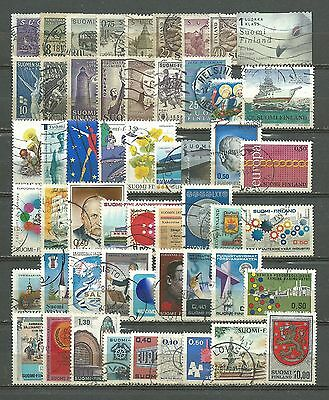 Finland, 54 Various, Used