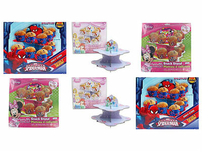 Kid's Party Decor Cup Cake  Snack Stand Birthday Disney Cartoon *BUY2GET1FREE*