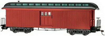 Bachmann 26498 On30 Painted & Unlettered Two-Door Baggage Car