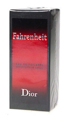 Christian Dior Fahrenheit 50ml Eau De Toilette Spray For Men EDT | Brand New