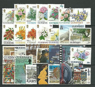 Guernsey, 32 Various. Used