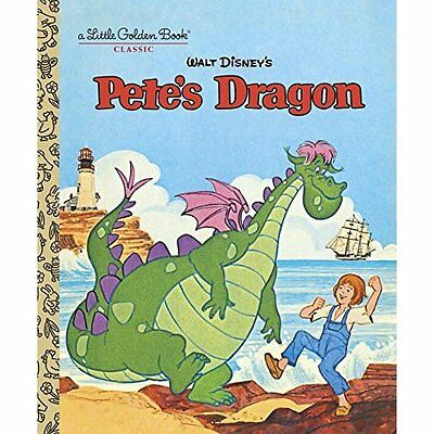 Pete's Dragon (Disney: Pete's Dragon) (Little Golden Bo - Hardcover NEW Random H