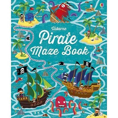 Pirate Maze Book (Maze Books) - Paperback NEW Kirsteen Robson 1 Aug. 2016