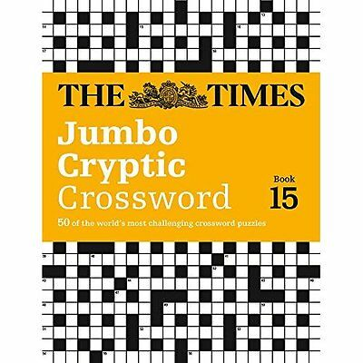 The Times Jumbo Cryptic Crossword Book 15 (Times Mind G - Paperback NEW The Time