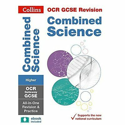 OCR Gateway GCSE Combined Science Higher Tier All-in-On - Paperback NEW Collins