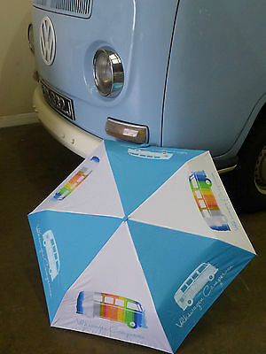 VW Camper Van Umbrella  Officially licensed by Volkswagen  modelled by 'Betty'