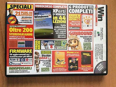 DVD WIN MAGAZINE 61  per PC + corso pratico interattivo WINDOWS XP