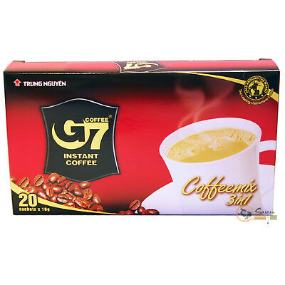 100Beutel Trung Nguyen Vietnam Instant Kaffee Mix Coffee G7 3in1 (100x16g)