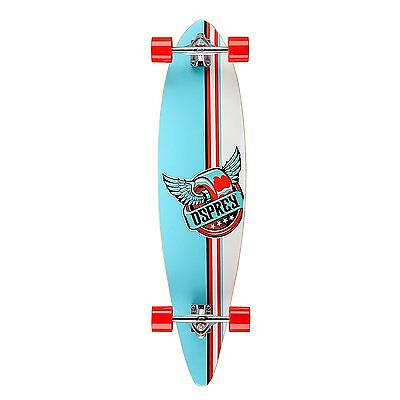 "Osprey Griffin Pintail Longboard Cruiser 41"" Complete Skateboard"