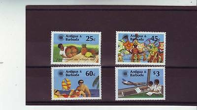 a111- ANTIGUA - SG779-782 MNH 1983 COMMONWEALTH DAY