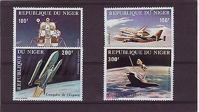 Niger - Sg845-848 Mnh 1981 Conquest Of Space