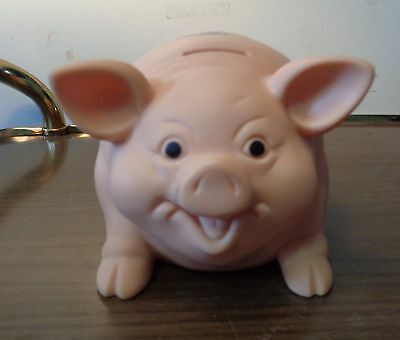 Advertising United Life Toystalgia Piggy Bank Made In Usa-Very Good Condition