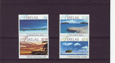 Tokelau - Sg325-328 Mnh 2001 Island Views