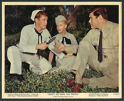 EARL HOLLIMAN ANNE FRANCIS JEFF RICHARDS JEEP Don't Go Near The Water '57