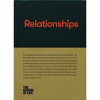 Relationships - Hardcover NEW The School of L 01/12/2016
