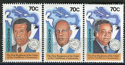 4004 - Barbados - Caribbean Community - MNH Set