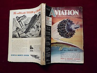 11th Yearbook 1944, Aviation, The Oldest American Aeronautival Magazine