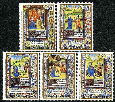 4044 - Turks&Caicos Islands - From Book of Hours - MNH Set