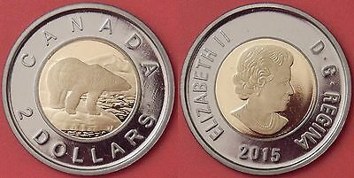 Proof 2015 Canada 2 Dollars From Mint's Set