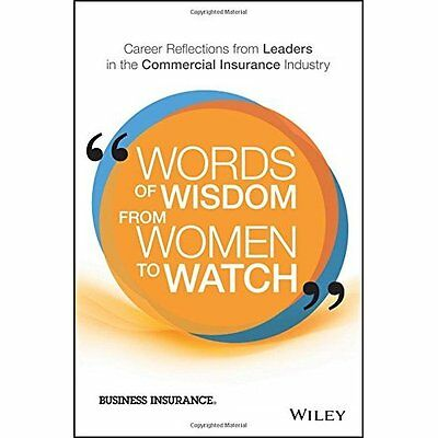 Words of Wisdom from Women to Watch: Career Reflections - Hardcover NEW Business