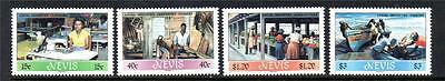 Nevis Mnh 1986 Sg402-405 Local Industries Set Of 4