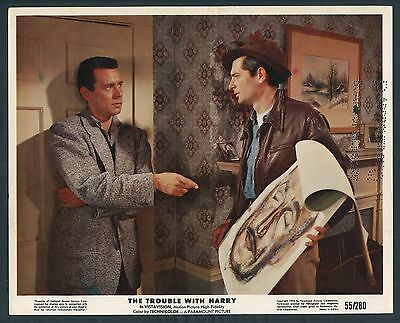 JOHN FORSYTHE ROYAL DANO The Trouble With Harry '55