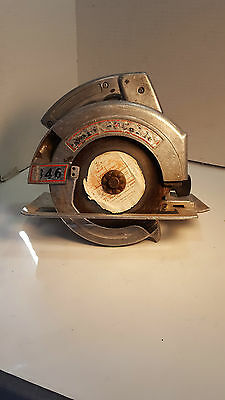 """NICE Vintage PORTER CABLE #346 6-1/4"""" Heavy Duty All Metal Circular Saw"""