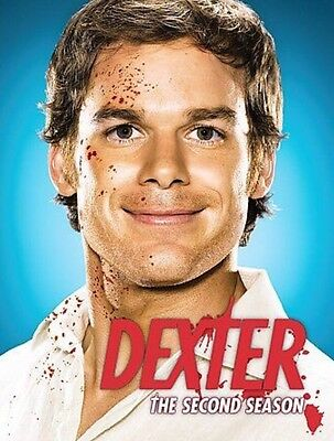 Dexter - The Complete 2nd Second Season (DVD, 2008, 4-Disc Set) Police Drama Ser