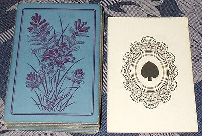Antique playing cards --  c.1890s  --  52/52