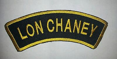 Lon Chaney Phantom Cult Classic Horror Film Movie Woven Patch