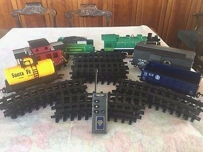 Scientific Toys G Scale Rc Southern 2043 Train Set:engine,tender,4 Cars,22 Rails