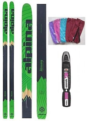 NEW ALPINA DISCOVERY 68 Metal BC Back cross country SKIS & BINDINGS - 170, 180cm