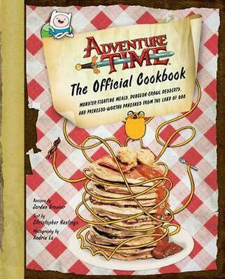 Adventure Time: The Official Cookbook by Jordan Grosser (English) Hardcover Book